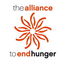 Alliance to End Hunger logo