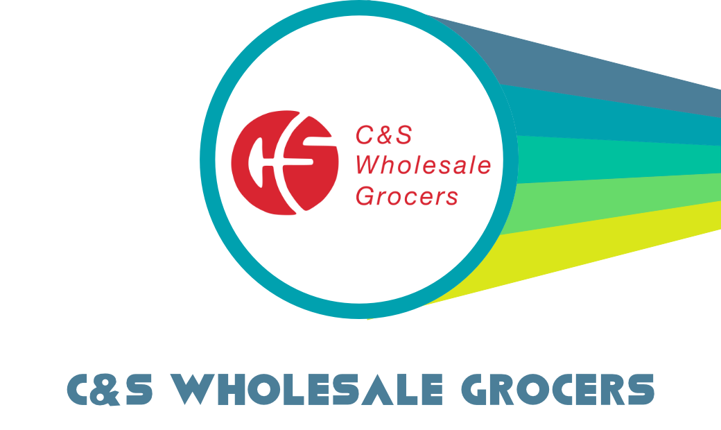 """Logo of C&S Wholesale Grocers with text """"C&S Wholesale Grocers"""""""